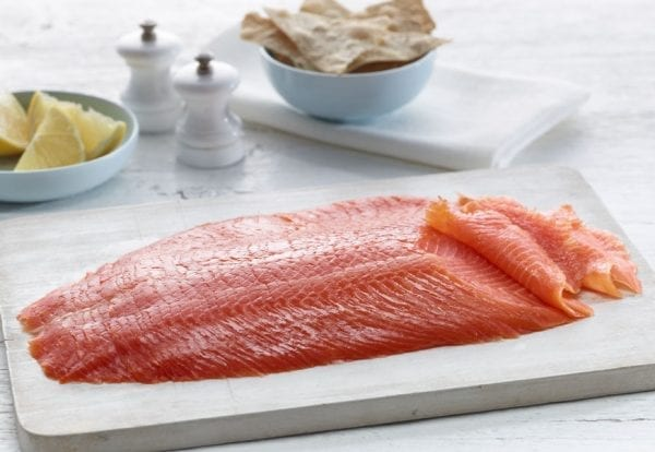 Sliced Smoked Ocean Trout – Cropped