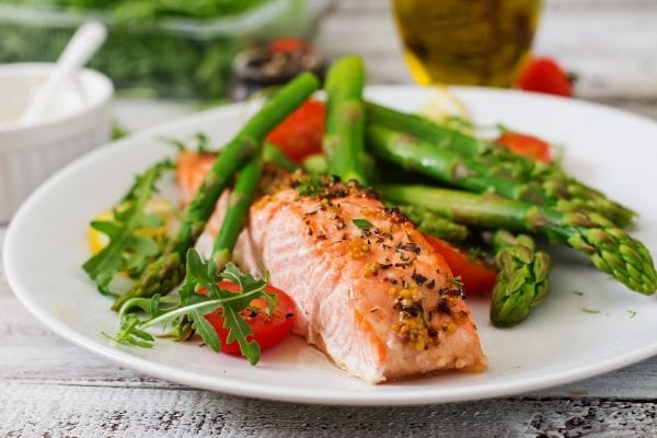 baked skinless salmon portion – beauty shot purchased