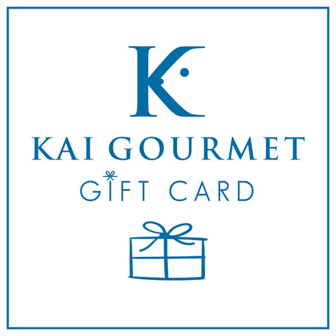 Kai Gift Gourmet Card 3 with bow on bottom