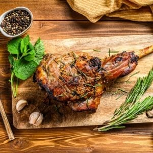 Te Mana NZ Lamb Leg (Bone-In)