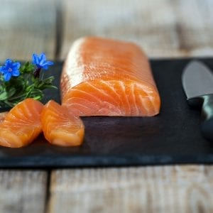 Mey Fillet – Smoked Scottish Salmon Loin
