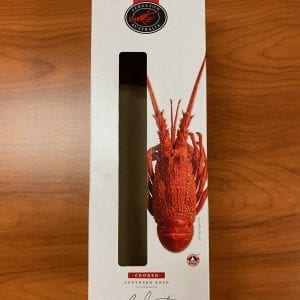 Front of lobster box – no lobster inside